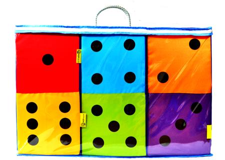 Poduszki zestaw Mega Domino 21 szt